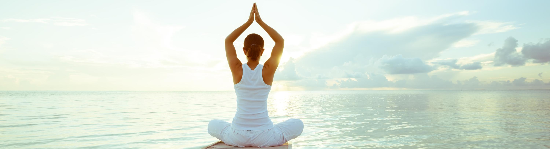 Posture typique du kundalini yoga